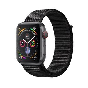 Apple Watch Series 4, Space Gray Aluminum Case with Black Sport Loop 44mm, GPS