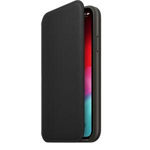 Apple iPhone XS Leather Folio – Black