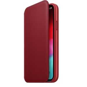 Apple iPhone XS Leather Folio – RED