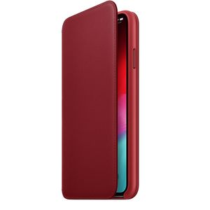Apple iPhone XS Max Leather Folio – RED