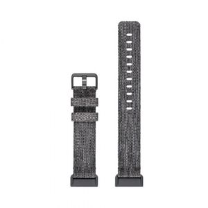 Fitbit Charge 3 Accessory Band Woven Charcoal Large