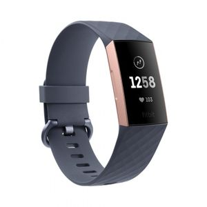 Fitbit Charge 3 - Rose Gold, Blue Grey