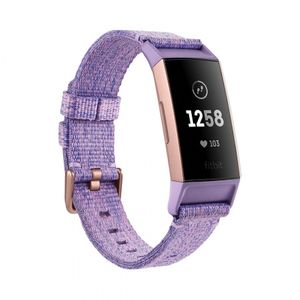 Fitbit Charge 3 Special Edition - Lavender Woven
