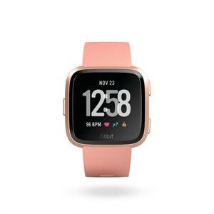 Fitbit Versa - Peach, Rose Gold Aluminum