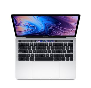 "MacBook Pro 13"" Retina Display с Touch Bar 2.4GHz, 256GB SSD – Silver, INT клавиатура"