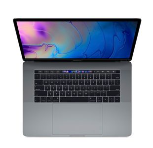 "MacBook Pro 15"" Retina Display с Touch Bar 512GB SSD - Space Gray, BG клавиатура"