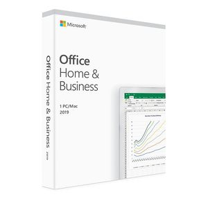 MS Office for Mac Home&Business 2019 English Eurozone Medialess