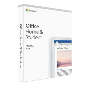 MS Office for Mac Home&Student 2019 English Eurozone Medialess
