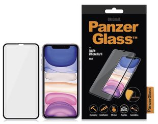 Стъкло PanzerGlass Premium за Apple iPhone XR/11 - Black